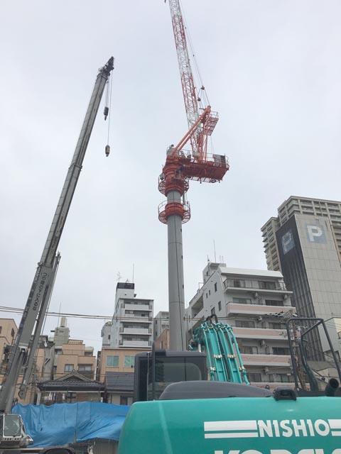 タワークレーン組み立て (7)