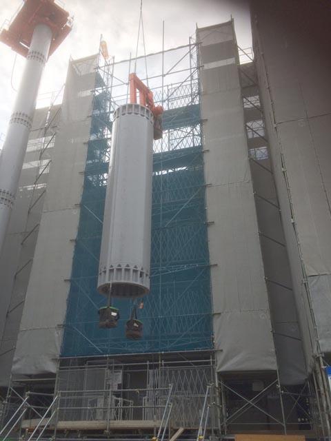 タワークレーン組み立て (2)